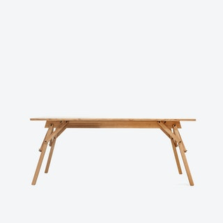 ATELIER Desk - Oak Oiled