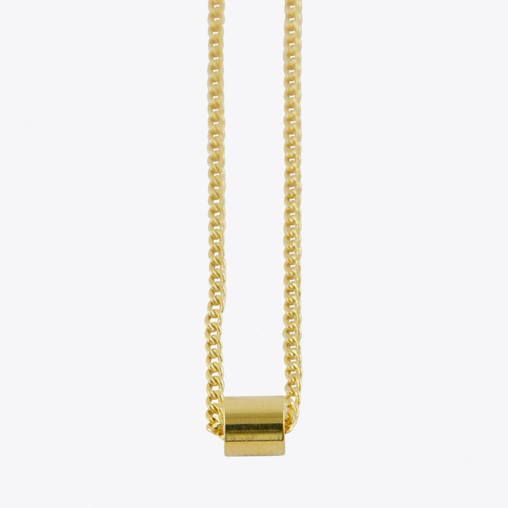 Drumm Necklace in Gold