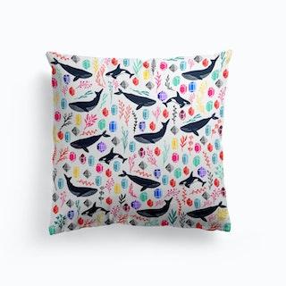 Cute Whales Cushion