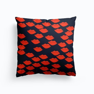 Red Lips Cushion