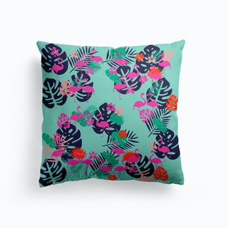 Pink Flamingo Cushion