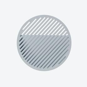 Diagonal Wall Basket - Grey