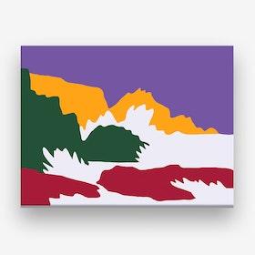 Seattle Sonics Canvas Print