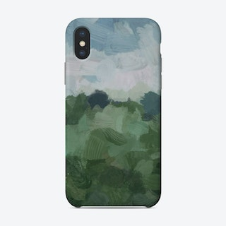 Windy Day On Farm Phone Case