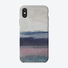 Purple Waves Phone Case