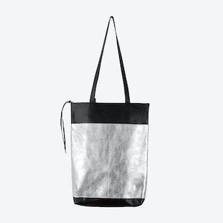 BJARNE Backpack  in Black / Silver