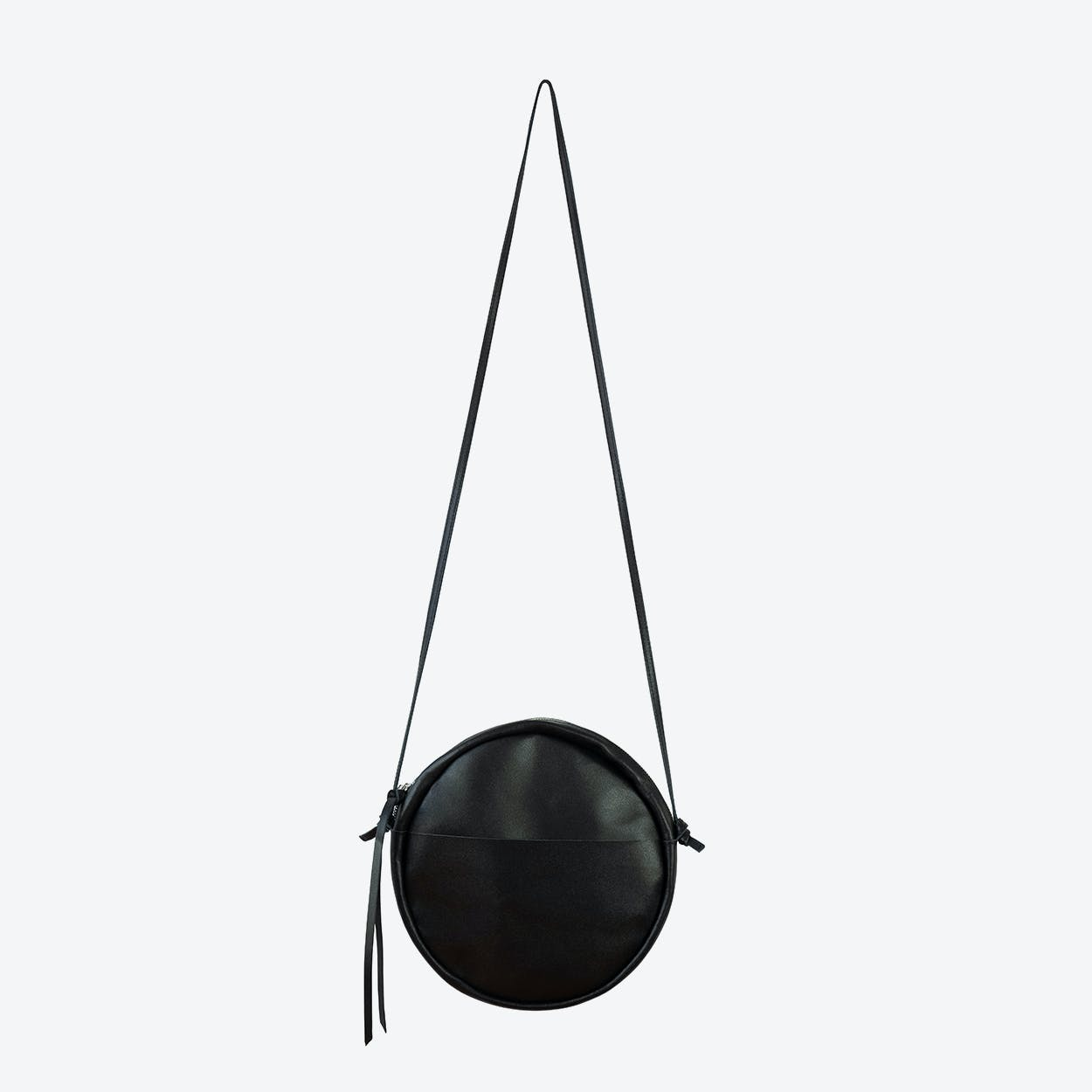 RUT Round Shoulder Bag in Black