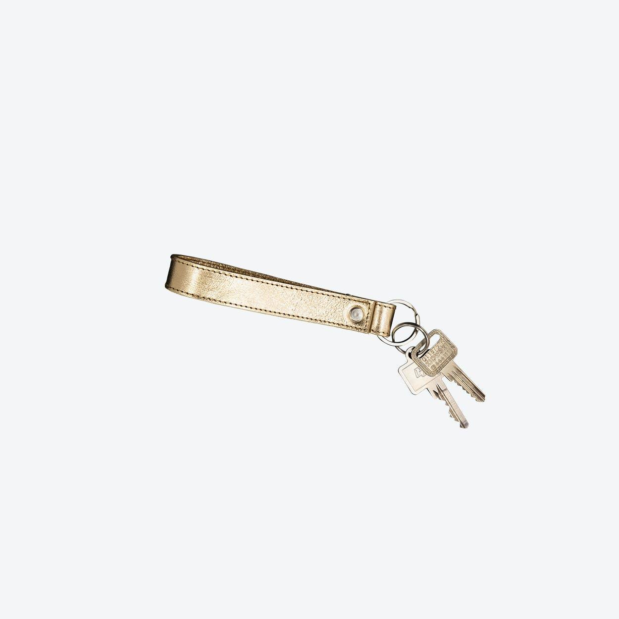 Short Keychain in Gold