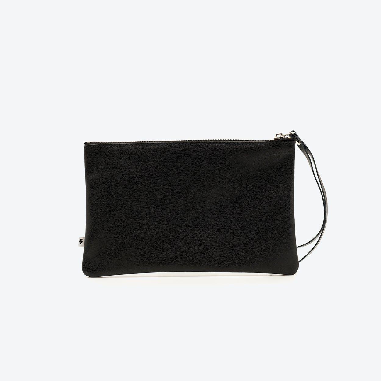 Large Clutch in Black