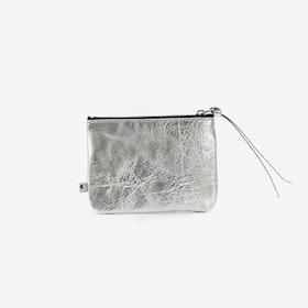 MAX Small Clutch in Silver
