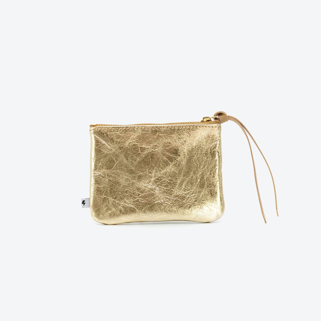 MAX Small Clutch in Brown / Gold
