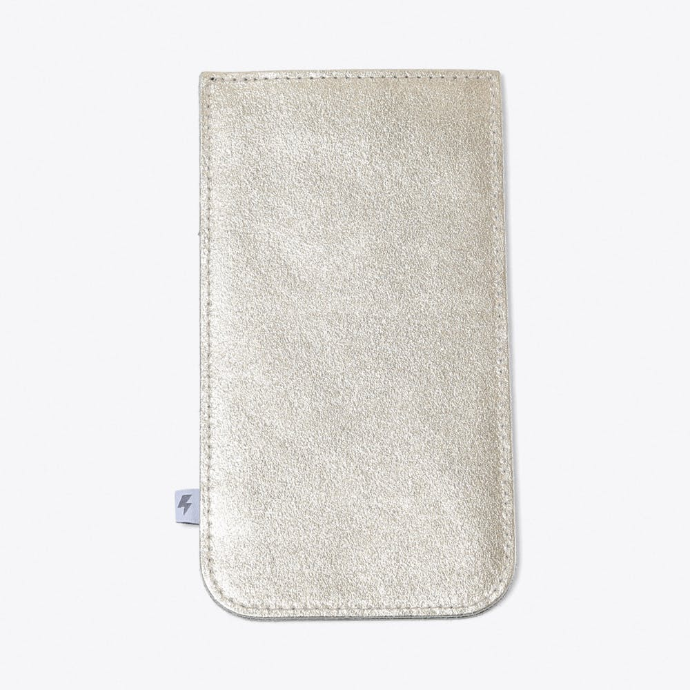 Leather Phone Case for iPhone 5 in Gold