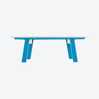 SLIM Bench 01 in Iris Blue