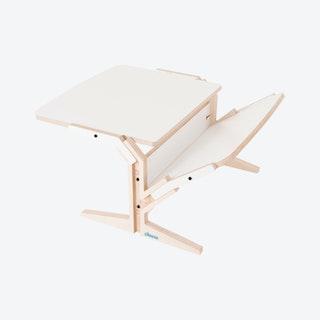 VEGETALE Horizontal Coffee Table in Snow White