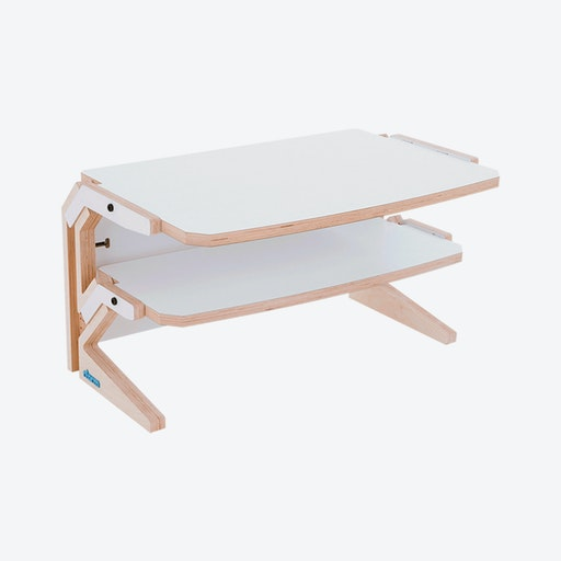 VEGETALE Side Table in Snow White