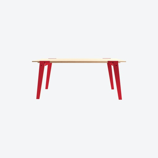 SWITCH S Table in Cherry Red