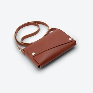 CLUTCH S Bag - Cognac