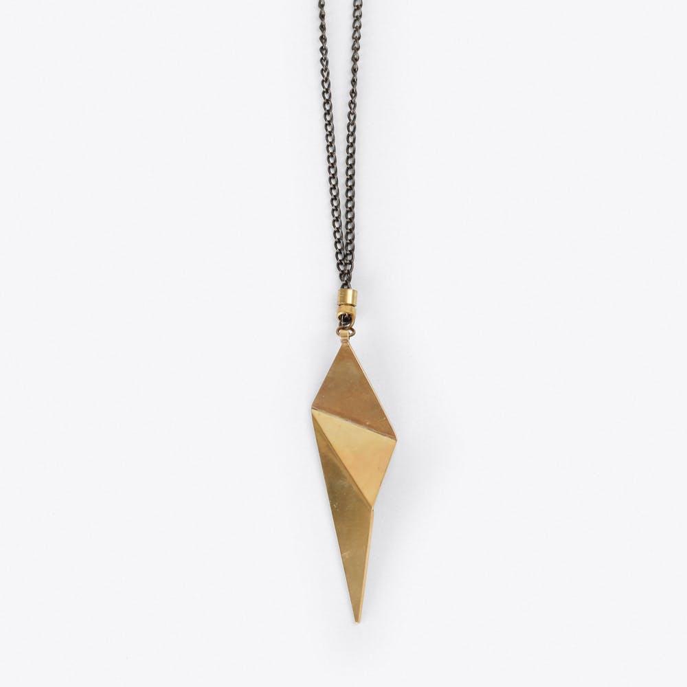 Origami Pendant Necklace