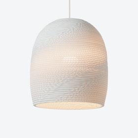 Bell Pendant Lamp - White