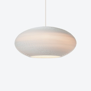 Disc Pendant Lamp - White