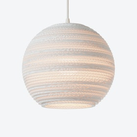 Moon Pendant Lamp - White