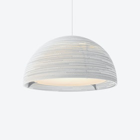 Dome Pendant Lamp - White