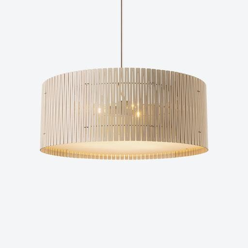 D9 Pendant Lamp - White Wash