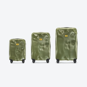 ICON Luggage 3 Piece Set in Olive