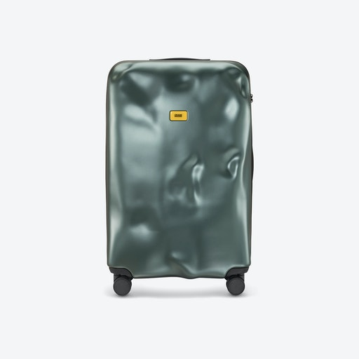 ICON 100L Luggage in Metal Green