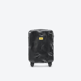STRIPE Cabin Luggage in Black