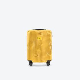 STRIPE Cabin Luggage in Yellow
