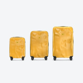 ICON Luggage 3 Piece Set in Yellow