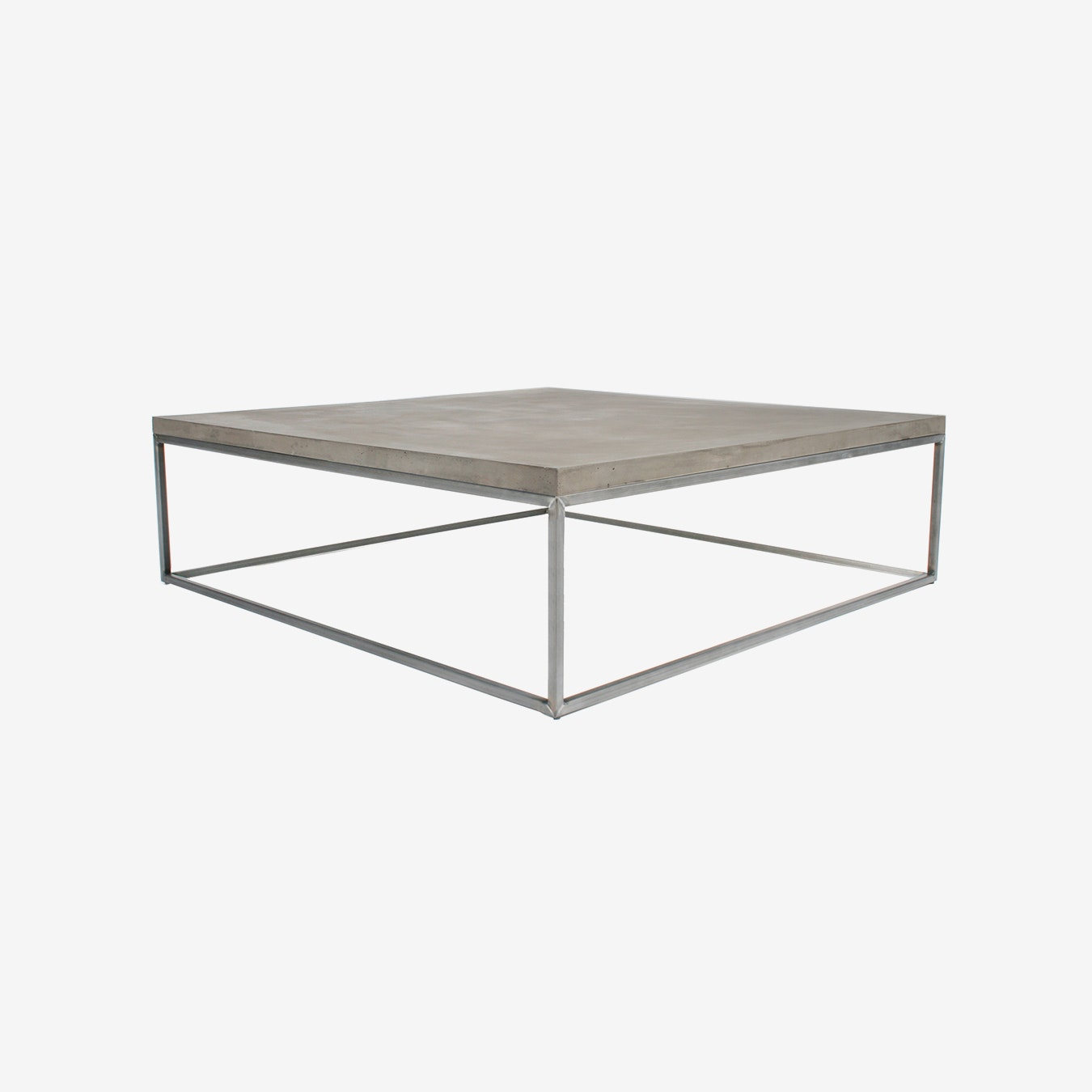 Concrete Perspective Coffee Table