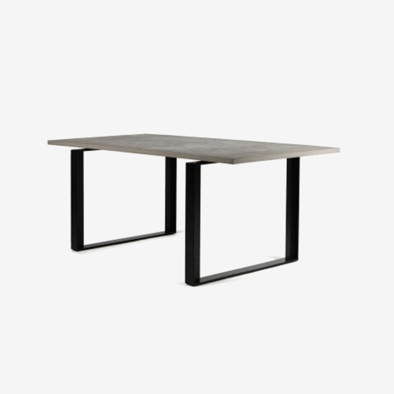 Black Powder Coated Alps Dining Table