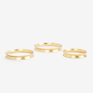 Chakra Trivets - Brass