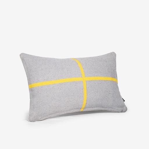 Jamakhan Cross Grey Cushion