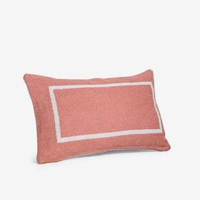 Jamakhan Terracotta Rectangle Cushion