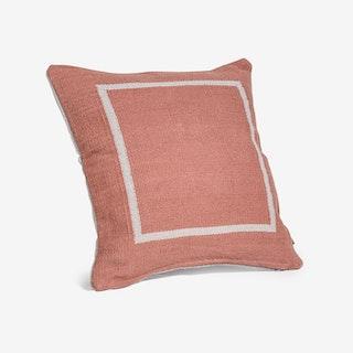 Jamakhan Terracotta Square Cushion