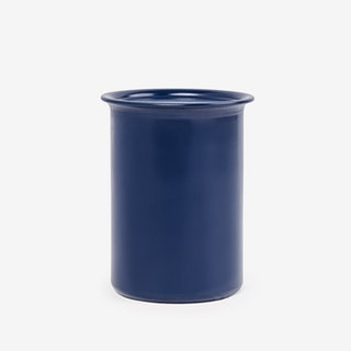 0.75L Ayasa Coloured Jar w/ Metal Lid - Blue