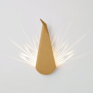 Peacock Head LED Light - Natural