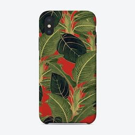 Orange Tropical Phone Case