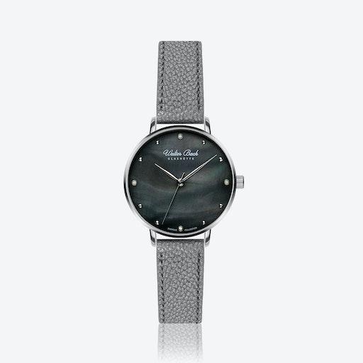 Rothenburg Watch w/ Lychee Grey Leather Strap