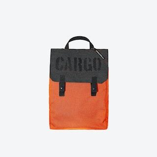 Reflective Backpack in Orange