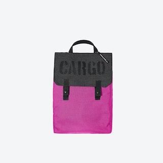 Reflective Backpack in Magenta