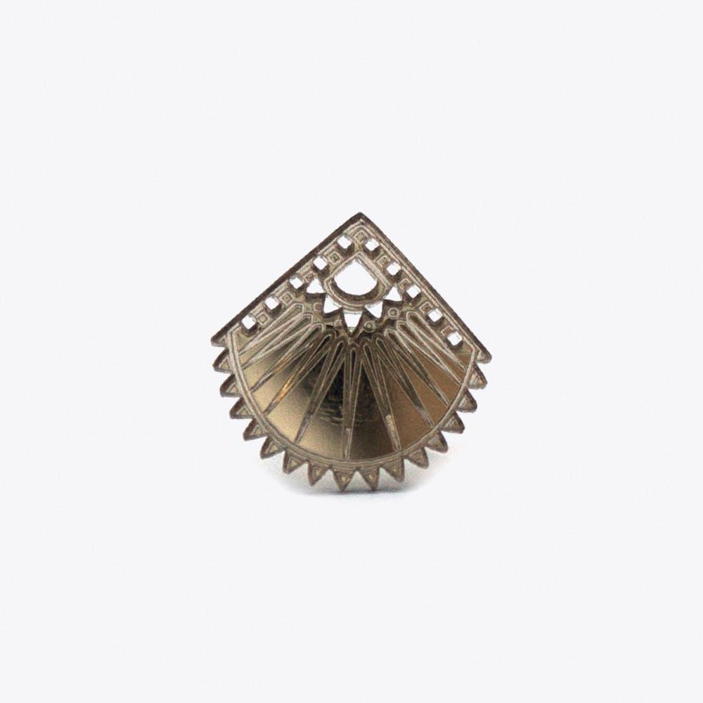 Pukka Ring in Rose Gold Mirror
