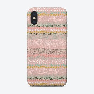Little Textured Minimal Dots Pink Phone Case