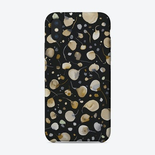 Flying Seeds Gold Silver Phone Case