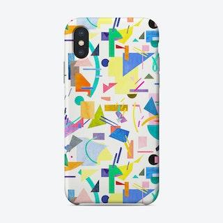 Geometric Collage Pop Phone Case