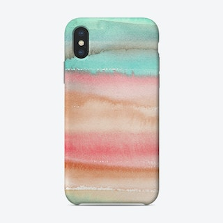 Gradient Watercolor Melon Phone Case
