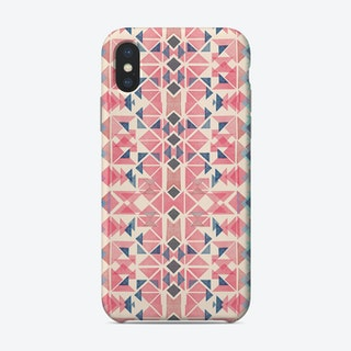 Boho Nomadic Tribal Coral Pastel Phone Case